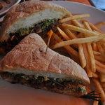 Bulgogi sandwich mmmm!!!