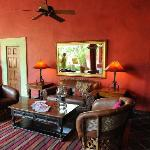 Many spaces to make yourself feel at home in the Posada