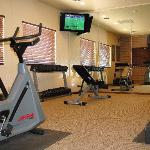 Expanded fitness room