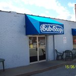 Outside University Sub Shop