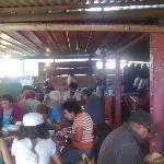 Comedor de la casa de una familia del lugar. Lagos de Montebello. Chiapas. México