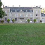 Chateau d'Eporce - rear view
