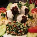 Foto de baharat falafel