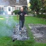 Firewalking at Hazeldean