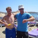 Beer O'clock - Nigel with Erhan