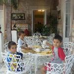 Cafe en Casa Limonchelo, Morelia