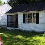 Franconia Notch Motel cabin 13
