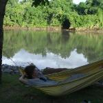 Relaxing near the river