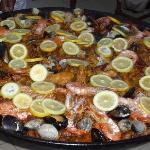 paella de la soirée catalane