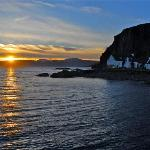 Sunset view from Easdale