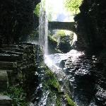 A waterfall in Watkins Glen State Park