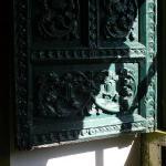 """Beautiful colonial-era window shutter in """"Pieter"""""""