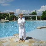Am neuen Pool