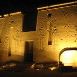 Sound and Light Show - Philae
