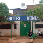 Hotel Dunia with it's owners