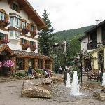 Vail village is just down the street