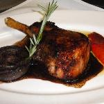 Pan Roasted Pork Chop with Balsamic Glaze