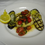 Grilled Trple Tail with Grilled Summer Vegetables