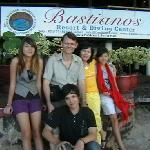 Photo of  me and my family at Bastianos
