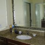 King Suite Bathroom Vanity area