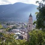 View over Merano