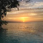 Sunset view from Plunge Pool :)