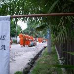 The alms procession