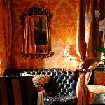 Prestonfield's chic Yellow Room