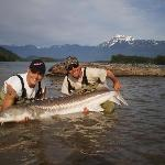 Sturgeon fishing with awesome friend & guide Matt Moisley