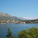 View of Cavtat from hotel.