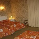 notre petite chambre à notre arrivée