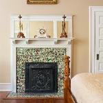 Fireplace in Azalea Suite