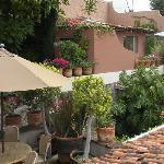 Casa Grillo private terrace on left