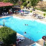 The pool and bar, Christina's Garden
