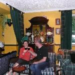 Sheers, an Irish coffee in the lounge bar