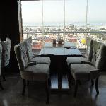 Restaurant de L'hotel vue sur le bosphore