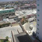 Rosarito Inn, Tower 1, 10th floor - View from the back window, nice to be able to see your car!