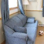 smaller cottage - couch