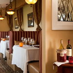 Enjoy a romantic meal in one of our cozy booths