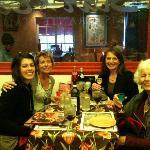 Patio dining at Star Bene