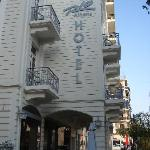 Hotel Rio from the street
