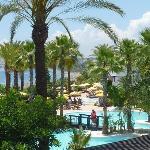 Pool und Gartenblick