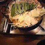 おいしいもつ鍋です
