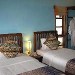 Room at waterfront villa