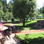 Minigolf im Zentrum von Crans-Montana