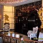 Salvador Dali's in the lobby