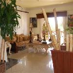Lobby Hotel Flamboyan