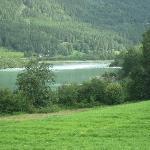 de rivier de Lågen.