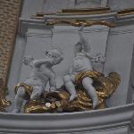 Interior church art work