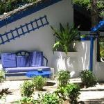 One of the unique bungalows